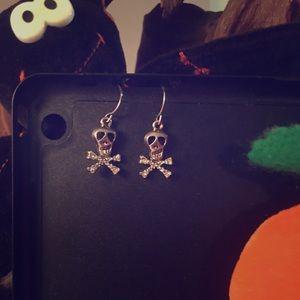 Halloween Skull 💀 n' Bones Earrings
